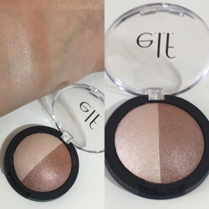 ELF Baked Highlighter & Bronzer, Bronzed Glow